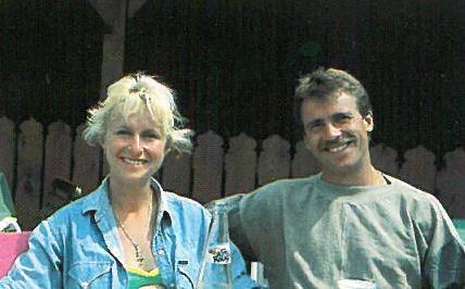 Parafly Gründer , Flugschullehrer Monika und Hans-Peter