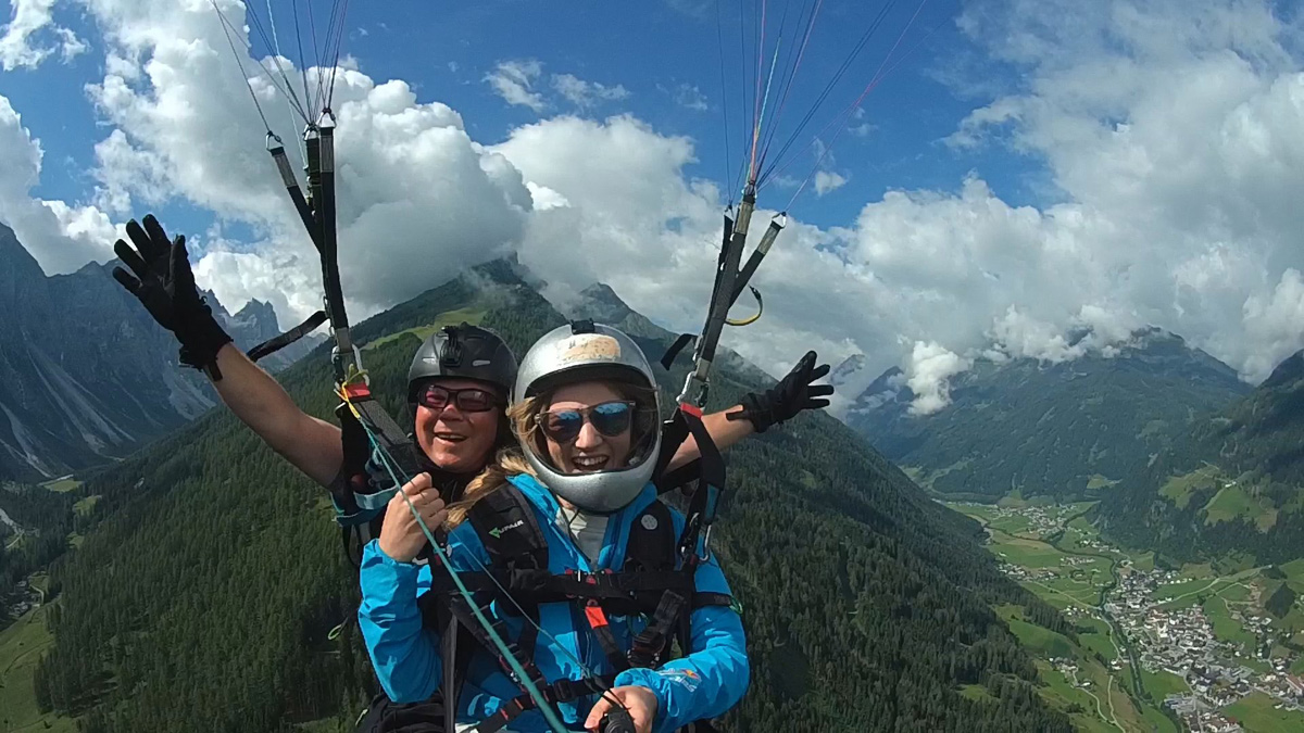 """Basic"" Paragliding Tandem Flight"