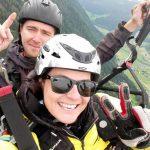 Tandem Gleitschirmflug in den Alpen