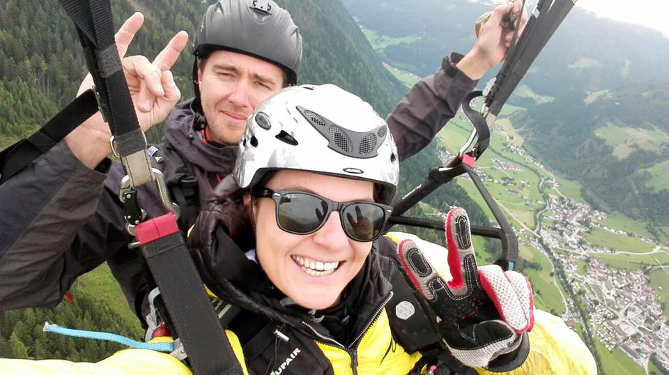 """Deluxe"" Paragliding Tandemflug"