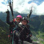 Gleitschirmfliegen in Tirol mit der Flugschule Parafly