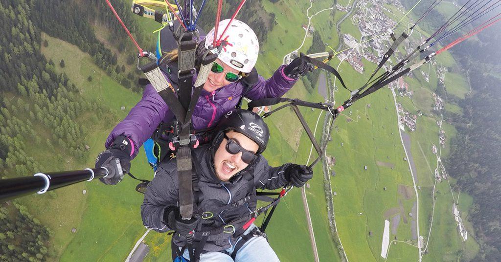 """Kombi"" Paragliding Tandemflug"