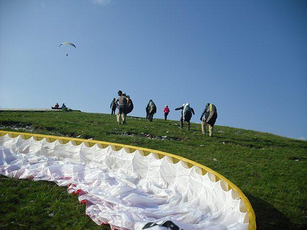 Paragliding Meduno
